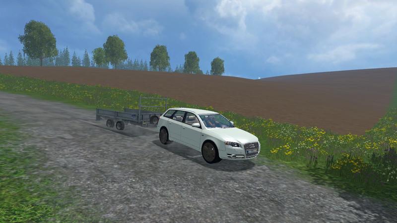 Audi A4 Avant Quattro Car V 10 Farming Simulator 2015 15 Mod