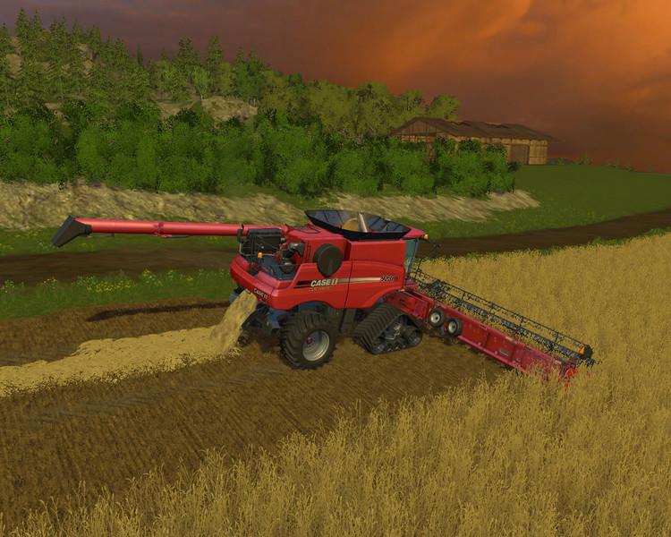 Axial Flow Combine : Case ih axial flow s combine v farming simulator