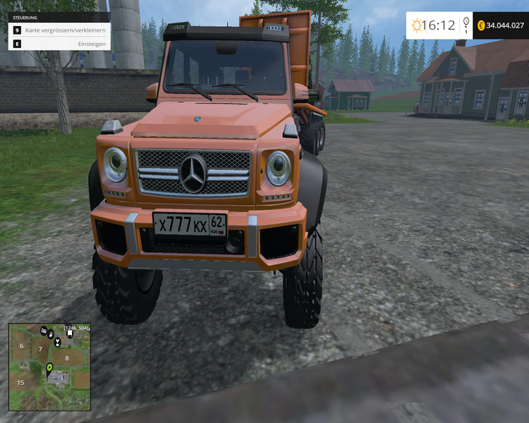 Mercedes Benz G 65 Amg 6x6 Car V 1 0 Farming Simulator