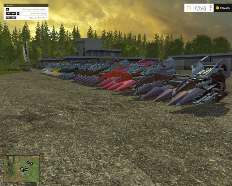 New Holland Maize Header Pack V 1 0 For Fs 2015 Farming