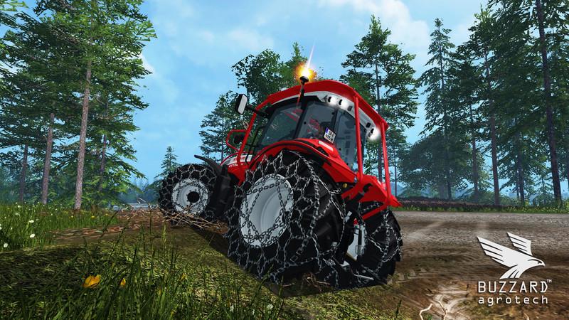 New Ford Trucks >> Steyr 4115 Multi Ecotronik Tractor V 3.0 Universal - Farming Simulator 2015 / 15 mod
