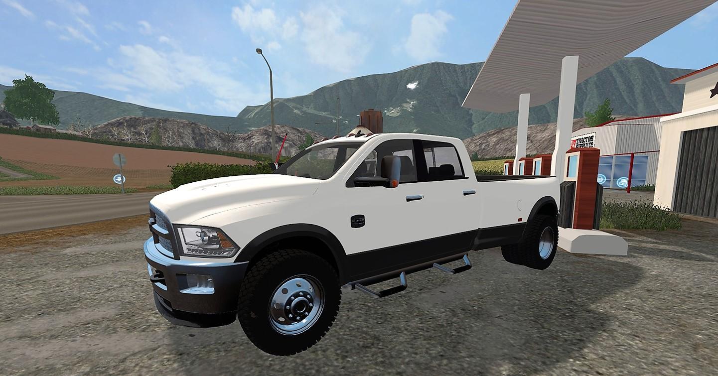 DODGE RAM 3500 V2.0 FS17 - Farming Simulator 2015 / 15 mod