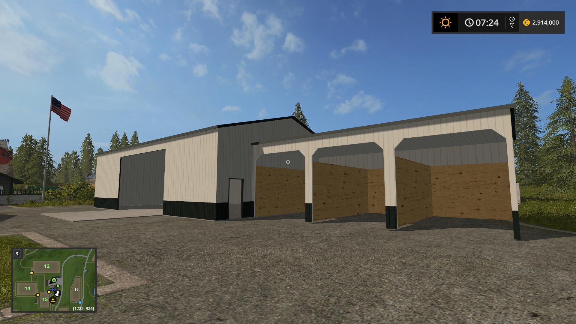 Placeable Morton Buildings V1 0 Buildings Farming