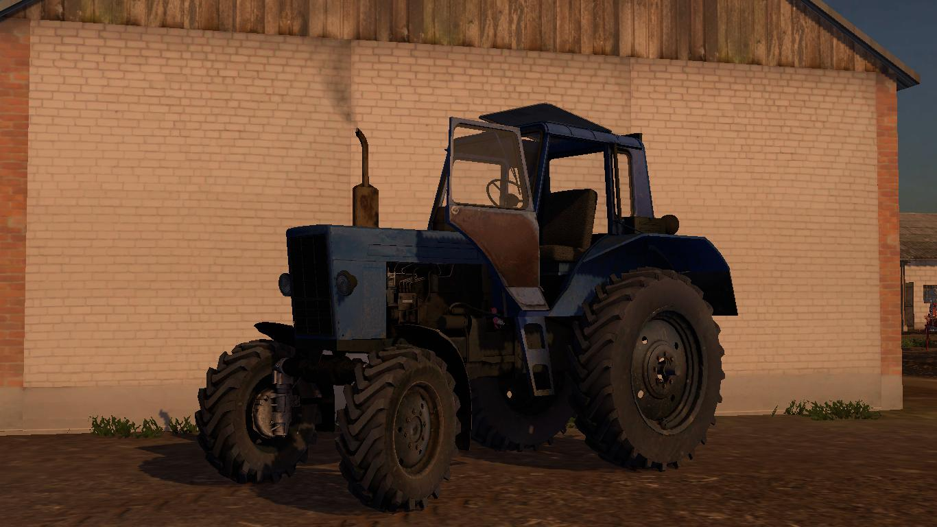 MTZ 82 DYNAMIC HOSES v1 0 MOD - Farming Simulator 2015 / 15 mod