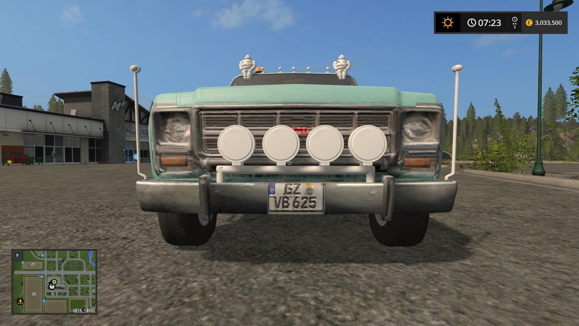 Pickup med D24 v1 0 0 Mod - Farming Simulator 2015 / 15 mod