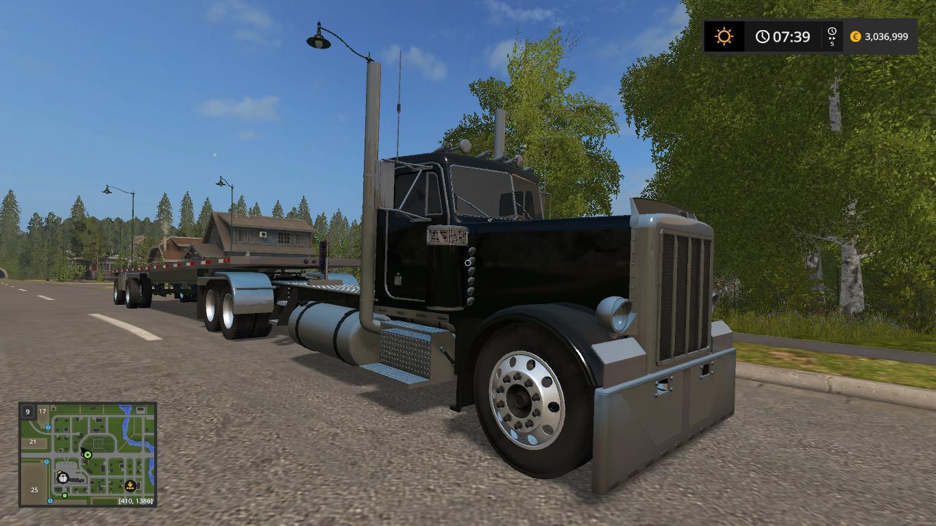 Peterbilt 359 lowerd v2 0 MOD - Farming Simulator 2015 / 15 mod