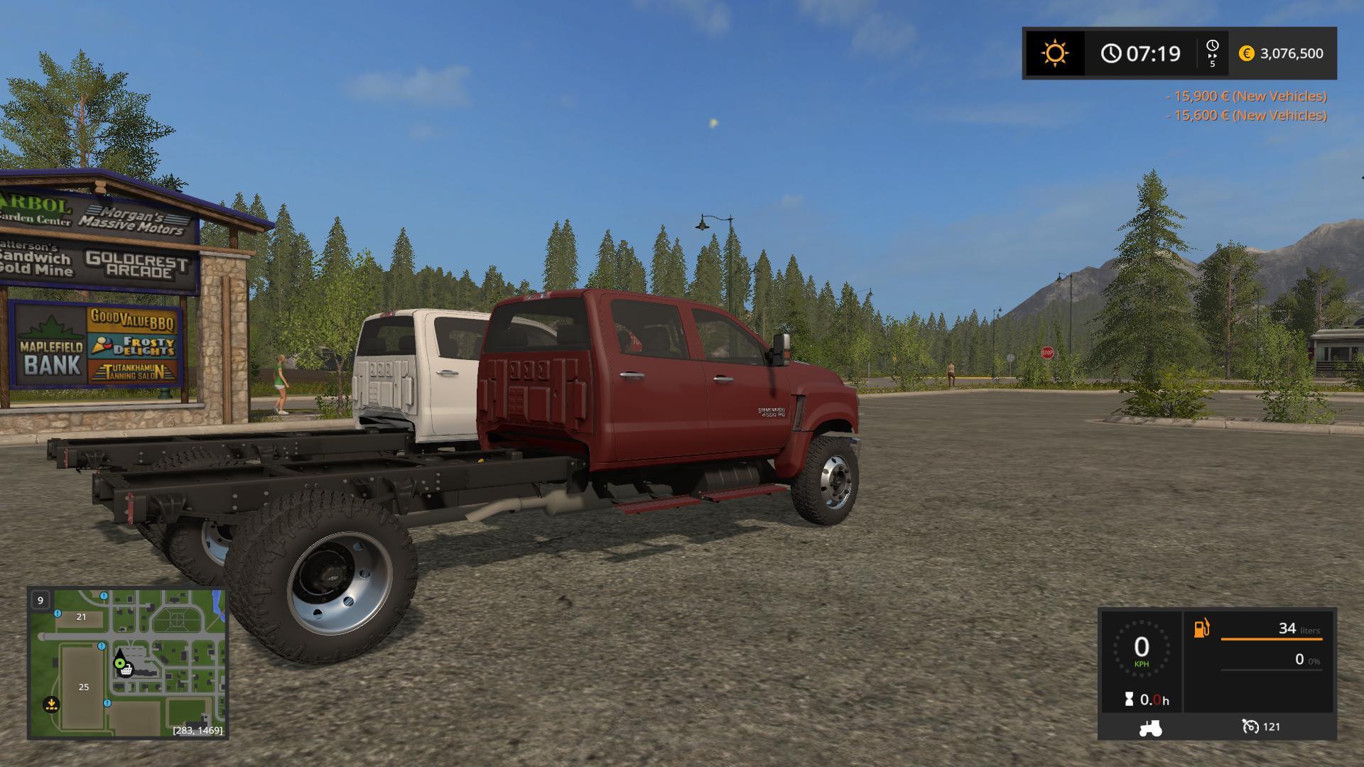 Chevy 2019 4500 v1 0 Mod - Farming Simulator 2015 / 15 mod