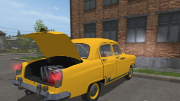 GAZ-21 v1 3 MOD - Farming Simulator 2015 / 15 mod