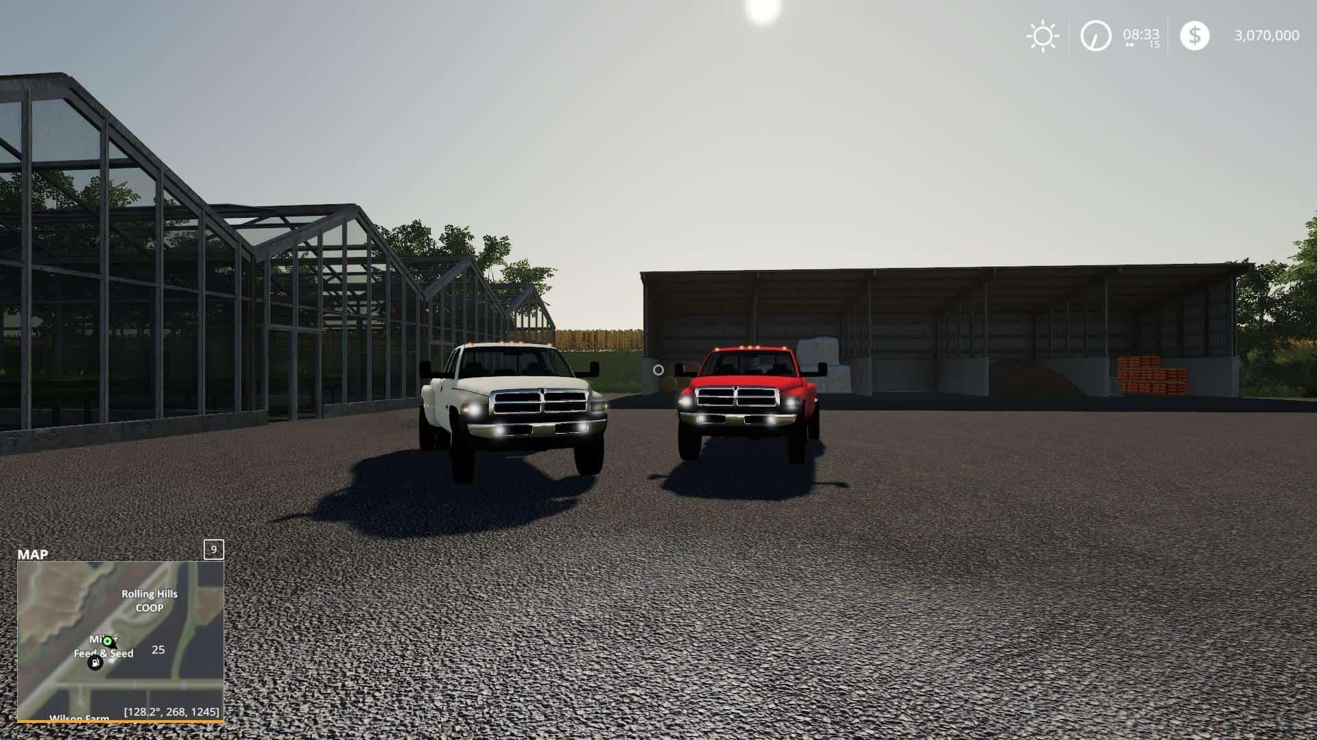 Dodge Ram 3500 V1 1 0 Mod Farming Simulator 2019 19 Mod