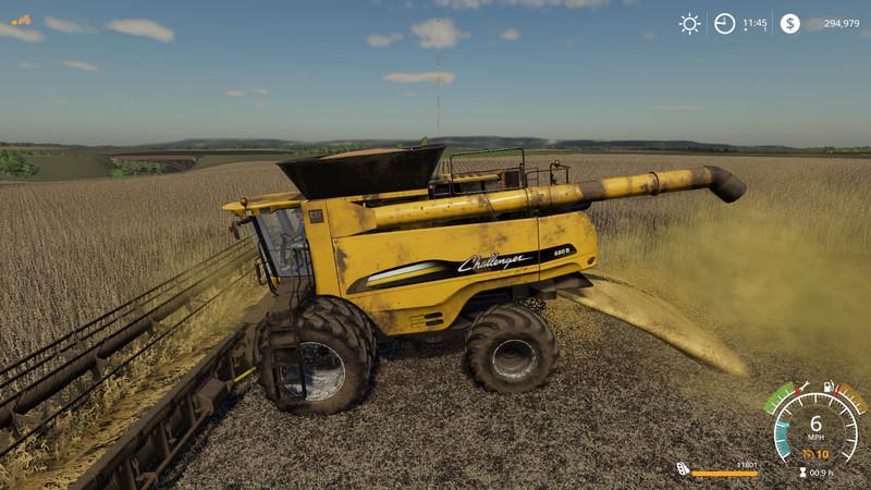 Agco Challenger 680b Ernester v1 0 MOD - Farming Simulator 2015 / 15 mod