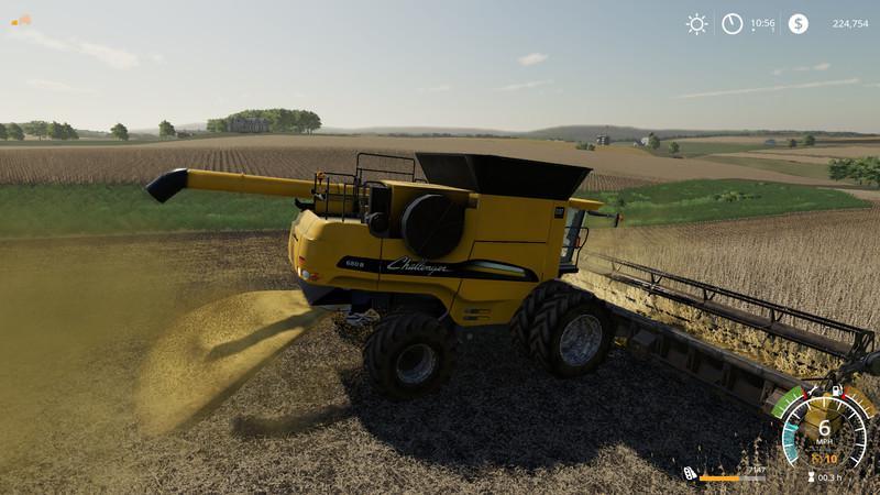 AGCO Rotary Combines Pack v1 0 Mod - Farming Simulator 2015