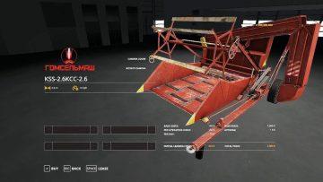 KSS – 2 6 v1 0 0 0 MOD - Farming Simulator 2015 / 15 mod