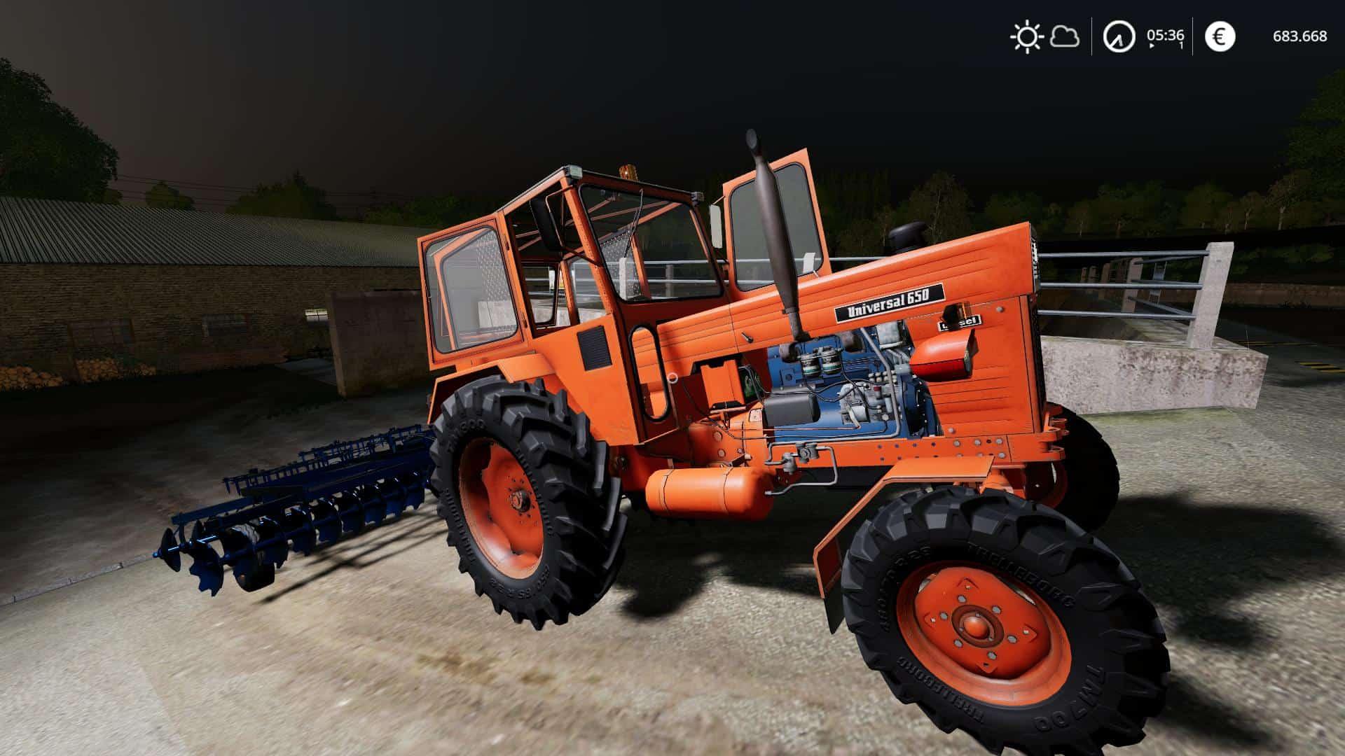 Romanian Disc GD Harrow v1 0 0 0 Mod - Farming Simulator 2015 / 15 mod