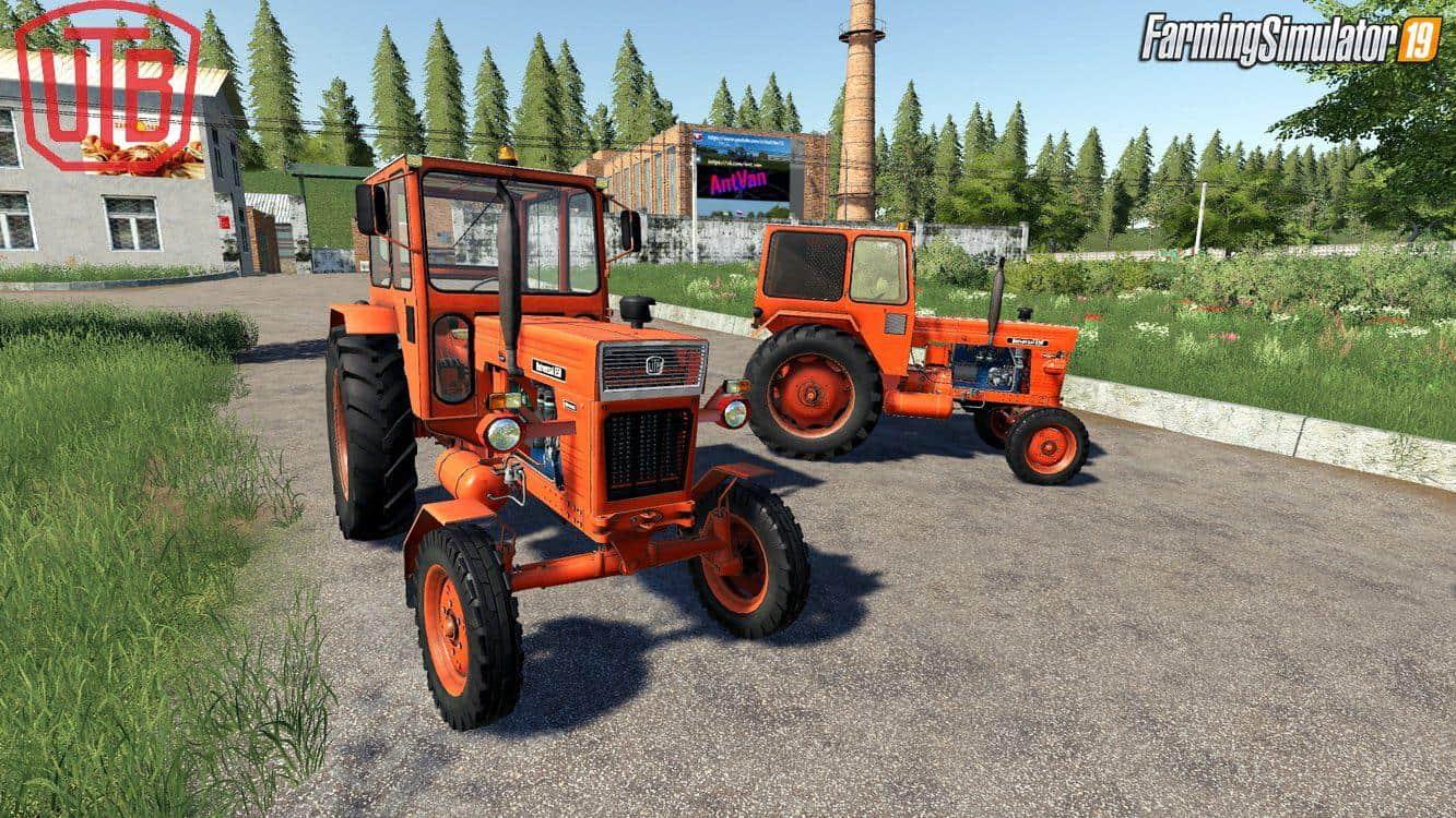 Universal UTB Old Romanian Pack Tractors v1 0 Mod - Farming