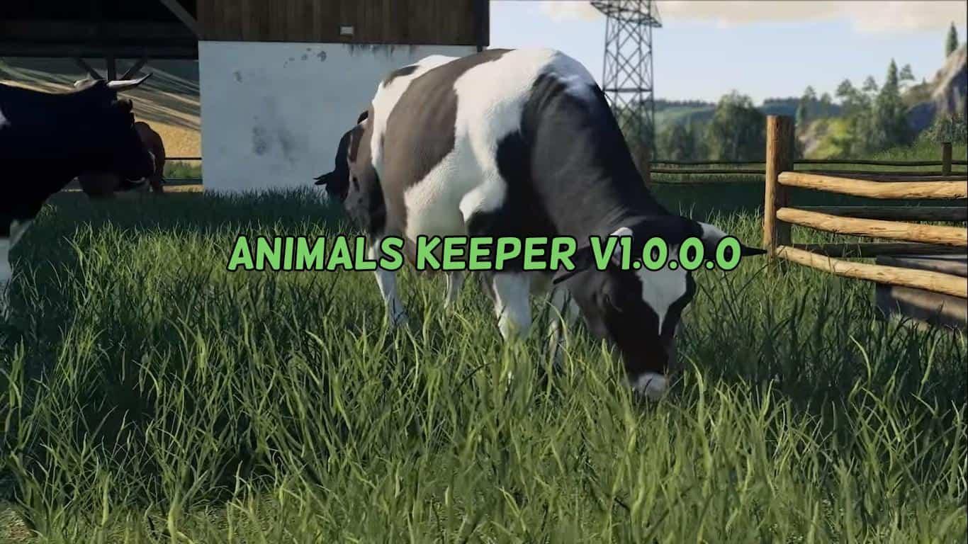 Animals Keeper v1 0 0 0 MOD - Farming Simulator 2015 / 15 mod