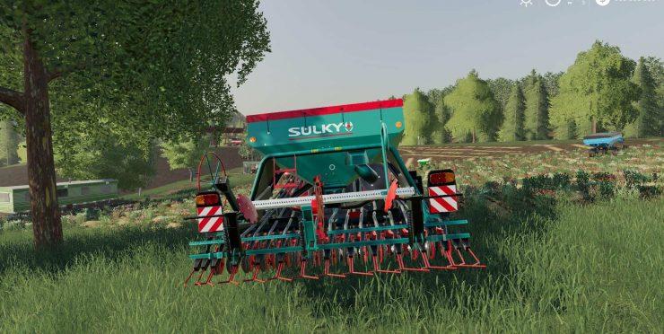 Sulky Xeos v1 0 0 0 Mod - Farming Simulator 2015 / 15 mod