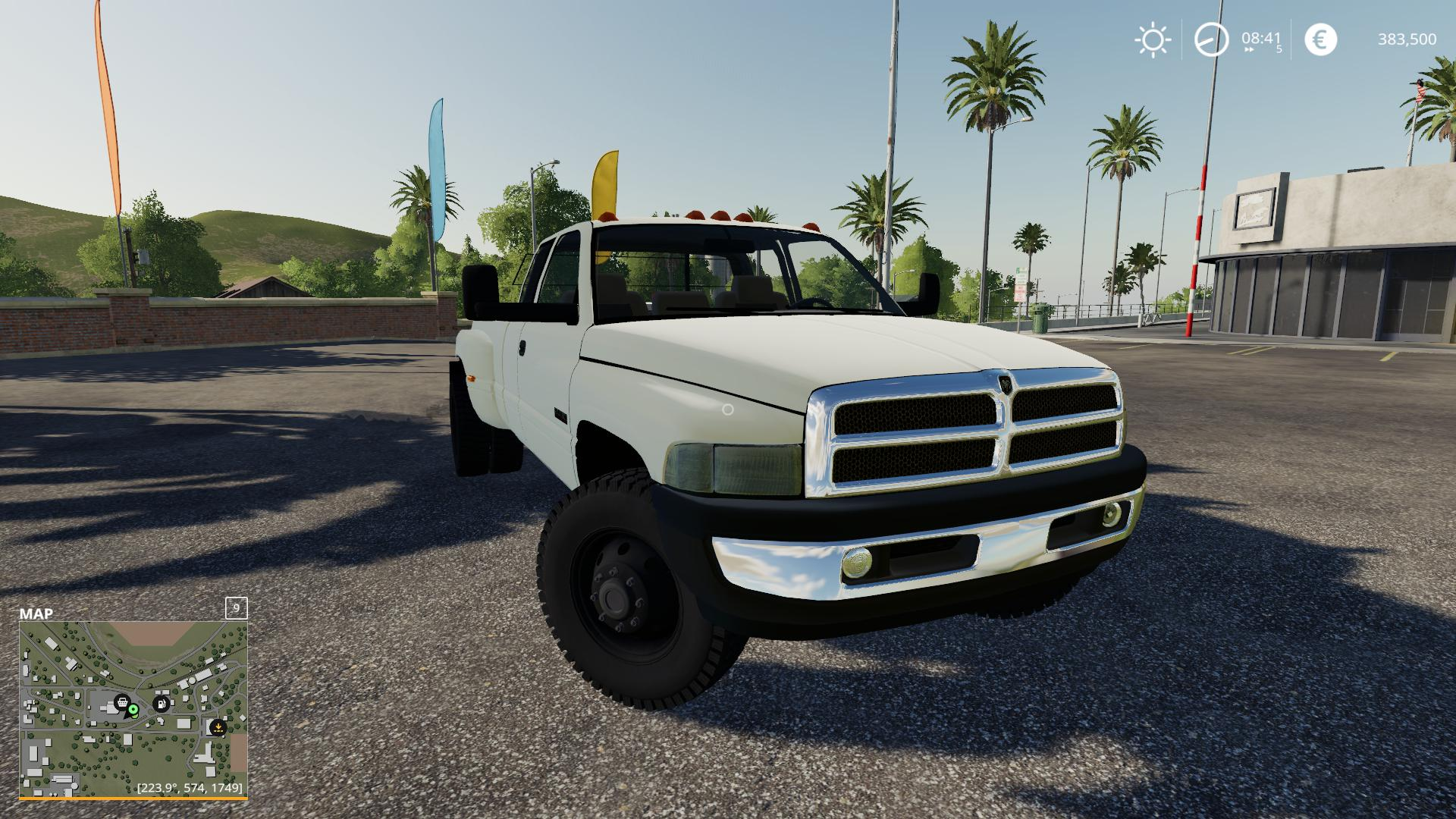 2nd Gen Dodge Ram 3500 V2 0 Car Farming Simulator 2019 19 Mod
