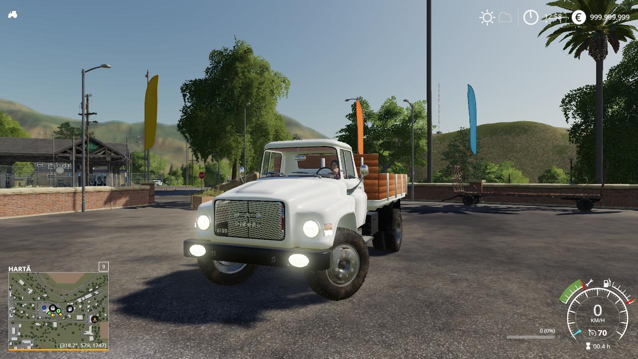 Dac 6135 V1 0 0 0 Truck Farming Simulator 2019 19 Mod